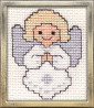 angel cross stitch kit