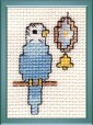 budgie cross stitch